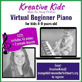 Kreative Kids Virtual Beginner Piano